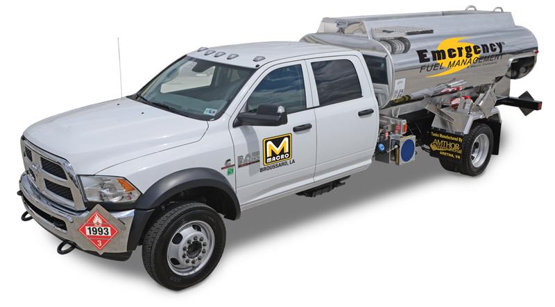 1500 Gallon Fuel Truck